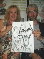 Telford Caricature Hire